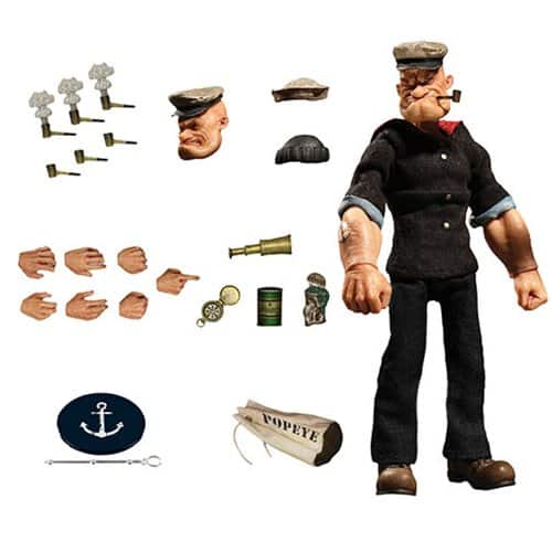 Popeye ONE:12 Action Figure 1