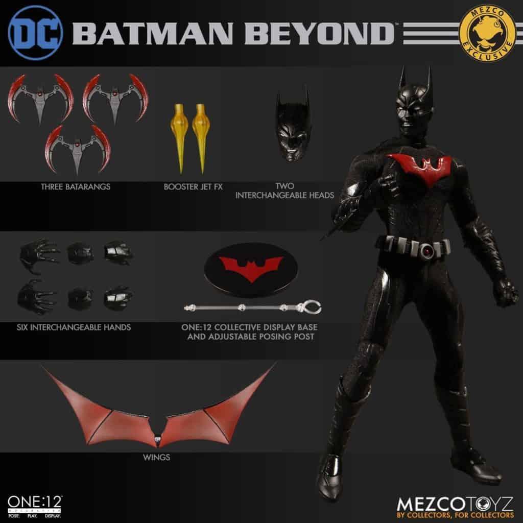 Mezco ONE:12 Collective Batman Beyond Action Figure 14