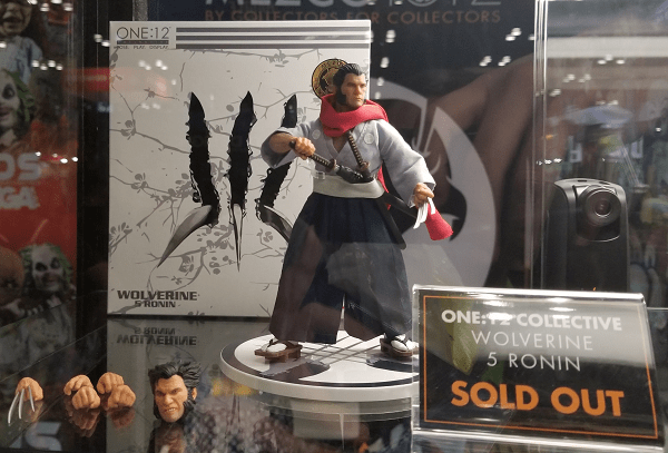 Mezco ONE:12 at NYCC - Wolverine from 5 Ronin