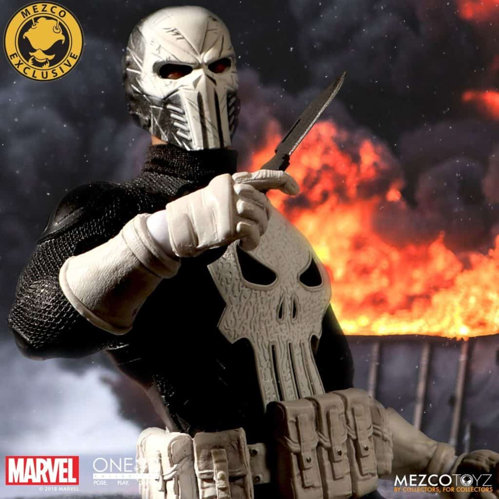 Mezco ONE:12 Punisher Special Ops Action Figure 10