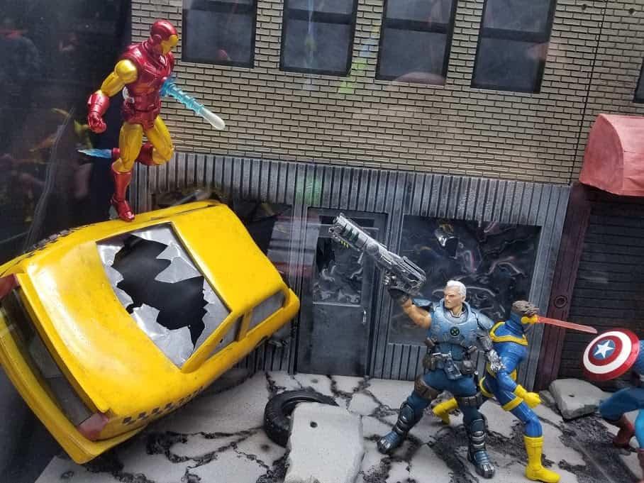 Mezco Marvel Diorama NYCC 2019