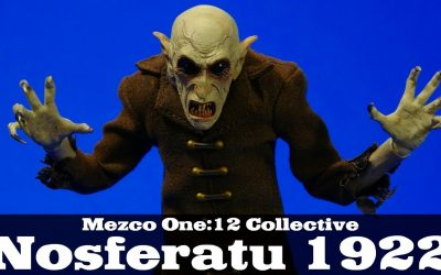 Mezco Nosferatu 1922 One:12 Collective Count Orlock Action Figure Review