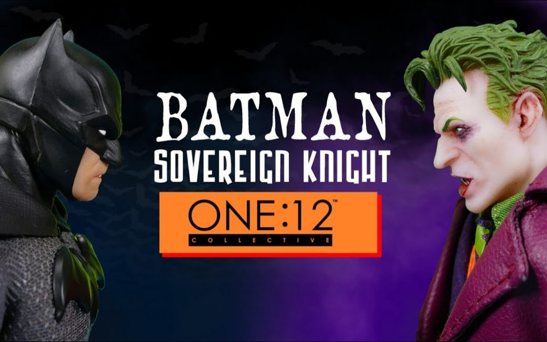 Mezco ONE:12 Collective Batman Sovereign Knight Action Figure Review