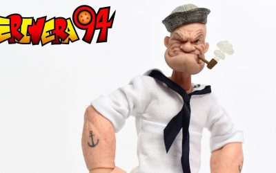 Mezco One:12 Collective MDX Exclusive POPEYE White Sailor Suit Action