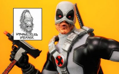 Mezco One:12 Collective Previews Exclusive X-Force Deadpool
