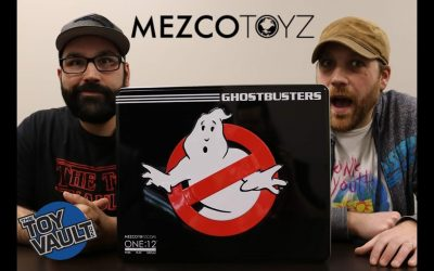 The Toy Vault Presents: Ghostbusters Mezco One:12 Set Review!
