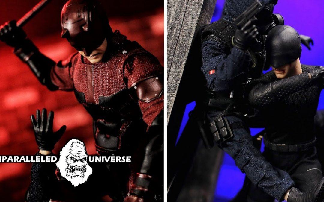 Mezco One:12 Collective Netflix Daredevil (Vigilante and Standard Version) Action