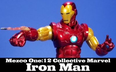 Mezco Invincible Iron Man One:12 Collective Marvel Action Figure Review
