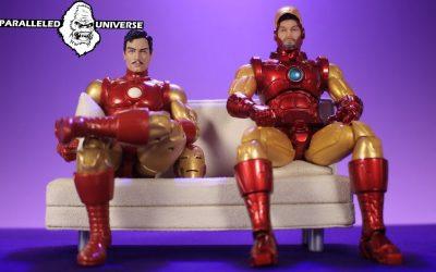Marvel Legends VS Mezco One:12 Collective: Classic Iron Man (Action