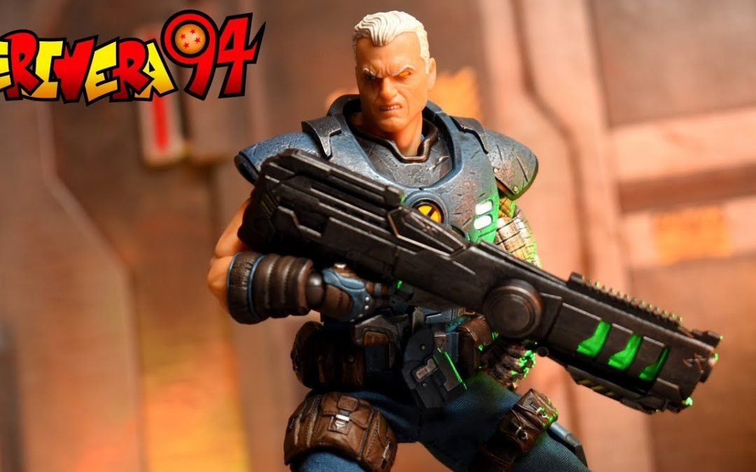 Mezco One:12 Collective Marvel Cable Review