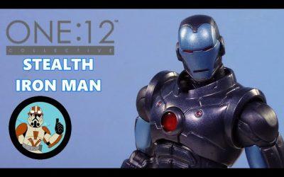 Iron Man Stealth Armor: Mezco One:12 Collective Previews Exclusive |