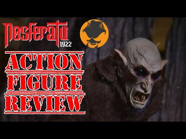 Mezco One:12 Silent Screamers Nosforatu action figure review