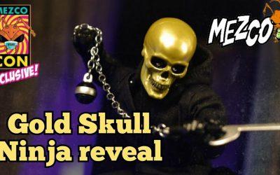 Mezco One:12 Collective Gold Skull Ninja pre order reveal