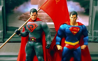 Mezco one:12 collective PX Red Son Superman