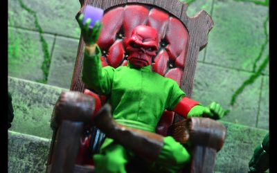 NYCC 2017 Mezco One:12 Exclusive Classic Red Skull Review