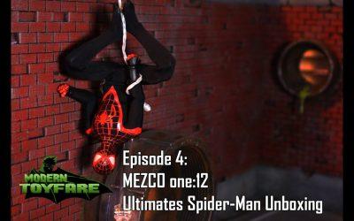 SDCC Mezco one:12 Ultimates Spider-Man Unboxing