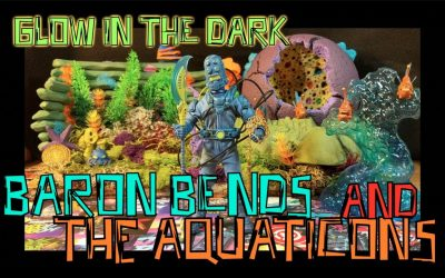 Baron Bends AND The Aquaticans: MEZCO ONE:12 COLLECTIVE
