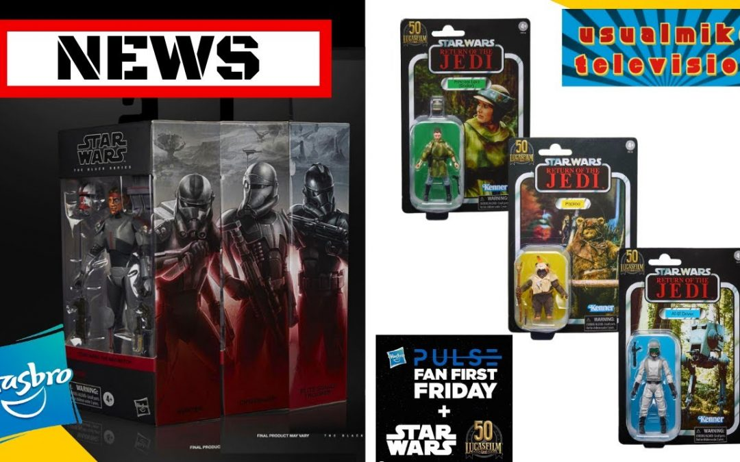STAR WARS ACTION FIGURE NEWS FAN FIRST FRIDAY REVEALS ENDOR