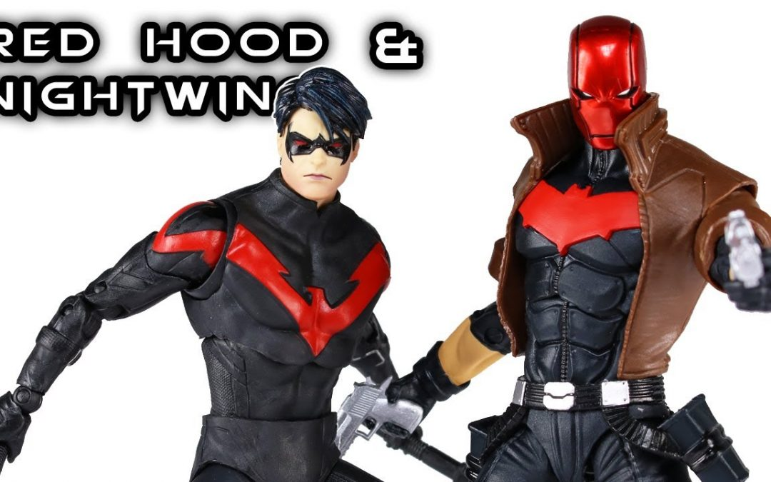 McFarlane RED HOOD & NIGHTWING DC Multiverse 2 Pack Action