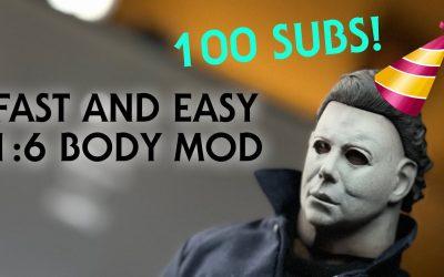 1/6 Michael Myers Body Mod