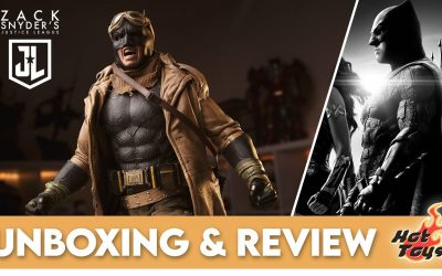 Hot Toys Knightmare Batman Unboxing and Review
