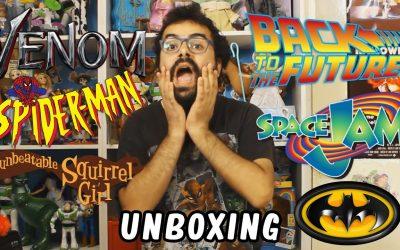 Robert-Man Hace Un Unboxing #4 ¡12 Figuras Nuevas!