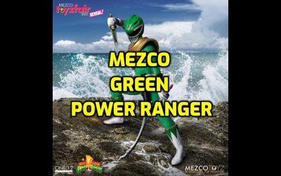 MEZCO POWER RANGERS – MEZCO GREEN RANGER