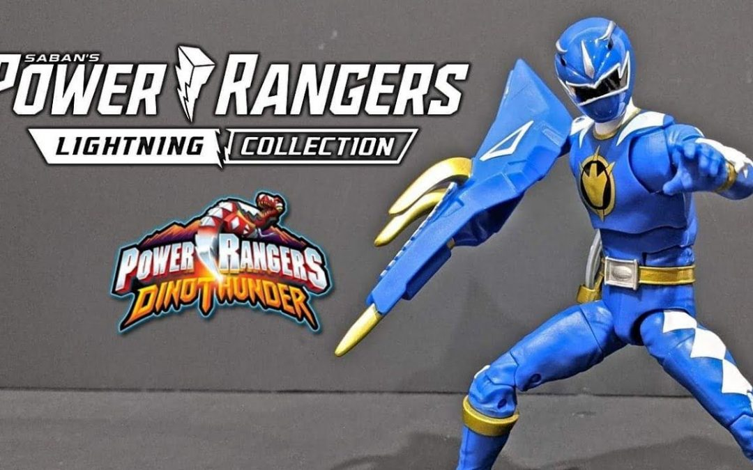 Dino Thunder Blue Power Rangers Lightning Collection Wave 8 Figure