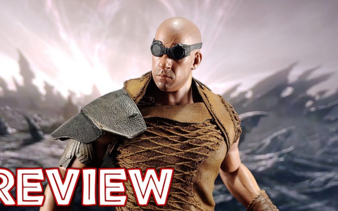 ART FIGURES THE DARK FURYAN 1/6 SCALE RIDDICK AF-025 [UNBOXING