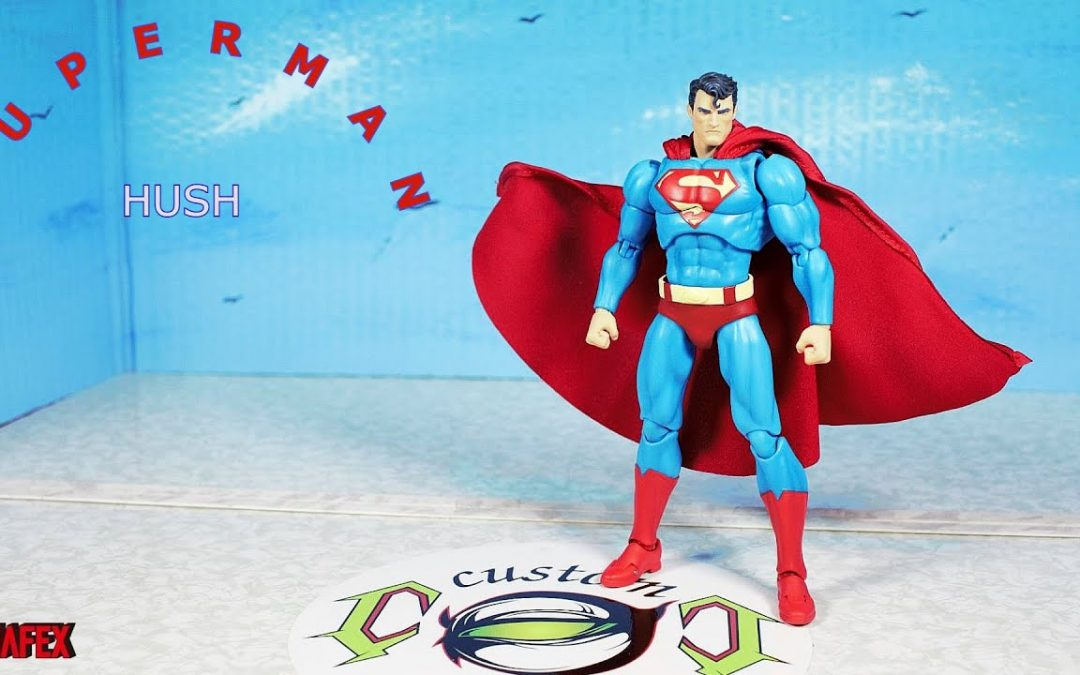 MAFEX HUSH SUPERMAN Action Figure Review