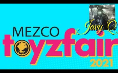 Mezco Toy Fair 2021 Reveals ! Fantastic 4, Green Ranger,