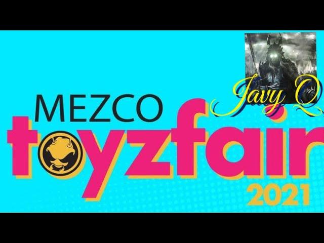 Mezco Toy Fair 2021 Reveals ! Fantastic 4, Green Ranger,